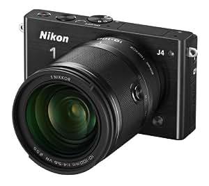 Nikon 1 J4 Digital Camera with 1 NIKKOR 10-100mm f/4.0-5.6 VR Lens (Black) (Discontinued by Manufacturer)