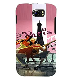 PrintDhaba Couple D-4894 Back Case Cover for MICROMAX A110 CANVAS 2 (Multi-Coloured)