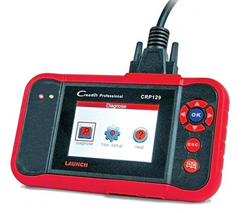 Launch CRP129 ENG/AT/ABS/SRS EPB SAS Oil Service Light resets Code Reader For Mechanic and Experenced Enthusiast