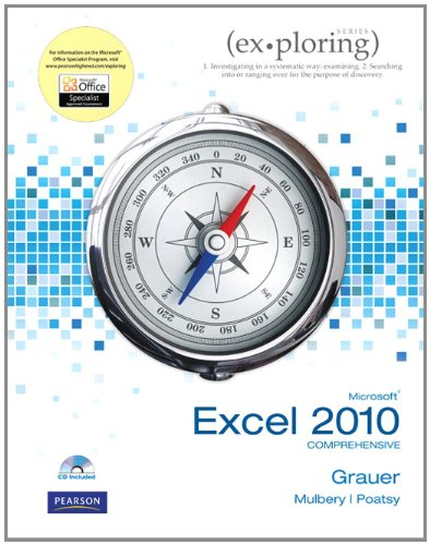Exploring Microsoft Office Excel 2010 Comprehensive...