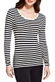Heatgen� Thermal Striped Long Sleeve Top [T61-6312S-S]