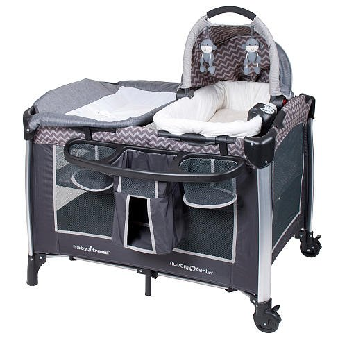 Playard With Bassinet & Changer