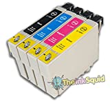 The Ink Squid 1 Set T1001-4 T1006 Epson Compatible Rhino Non OEM Ink Cartridges#Epson Stylus SX600FW