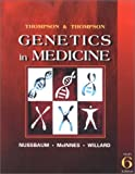 img - for By Robert L. Nussbaum Thompson & Thompson Genetics in Medicine, Sixth Edition (6th Edition) book / textbook / text book
