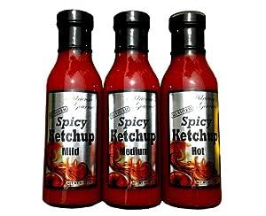 Adriennes Gourmet Spicy Ketchup 5 Bottles from Adienne's Gourmet LLC