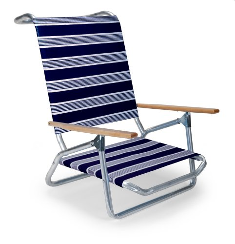 Telescope Casual Light and Easy Low Boy Folding Beach Arm Chair, Night