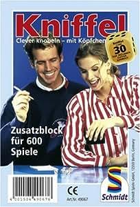 Schmidt Spiele 49067 - Kniffelblock