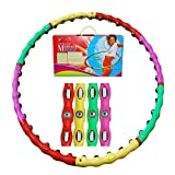 1set Plastic Removable Magnetic Massage Hula Hoop Combined Hula Hoop lose weight classic massage