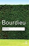 Distinction (0415045460) by Bourdieu, Pierre