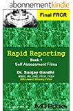 Rapid Reporting For FRCR 2B Vol.1 (Rapid Reporting Series) (English Edition)