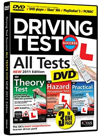 Driving Test Success All Tests DVD 2011 Edition for DVD Player or DVD compatible games console (Interactive DVD)