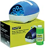 Blue Bubble Machine (Battery or Mains Powered)