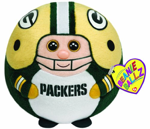 Ty Beanie Ballz Green Bay Packers - NFL Ballz