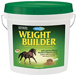 Farnam Weight Builder Premium Concentrate Feed Supplement, 8-Pound