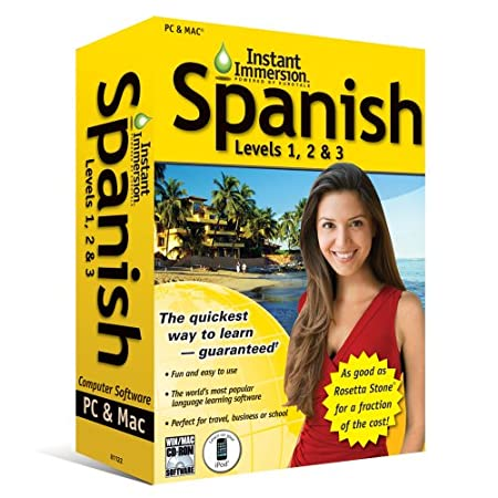 Instant Immersion: Spanish, Levels 1,2 and 3