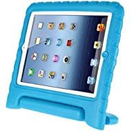 Afranker Ipad Mini / Mini 2 Shockproof Case Light Weight Kids Case Super Protection Cover Handle Stand Case for Kids Children for Apple Ipad Mini / Mini 2 Blue
