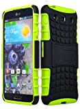 Bastex Rugged Double Layer Kickstand Hard Dynamic Hybrid Case Cover for Lg Optimus G Pro E980