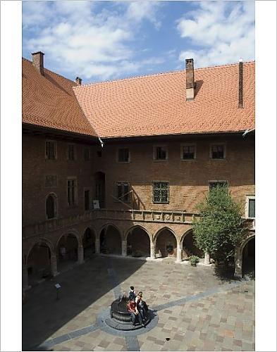 Photographic Print Of The Collegium Maius Museum Of The Jagiellonian University