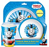 Spearmark 3-Piece Thomas The Tank Engine Tumbler, Bowl and dish Set