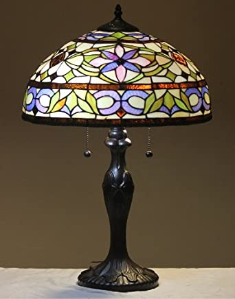 tiffany style stained glass table lamp adagio floor lamps ama. Black Bedroom Furniture Sets. Home Design Ideas