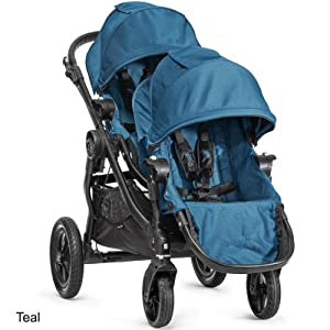 Baby Jogger 2014 City Select Stroller WITH Second Seat (Teal) by BaJogger