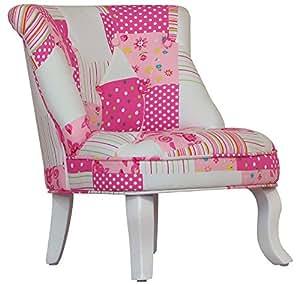 Kidsaw mini fauteuil enfant patchwork b b s pu riculture - Fauteuil enfant amazon ...
