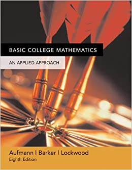 Basic College Mathematics eighth edition D. Franklin Wright paperback 2007