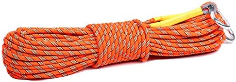 DUYI Premium 8mm Crafting Climbing Rope with 2 Buckles Perfect for Climbing Lifesaving Surviving