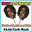 Heather Small on Stick Celebrity Face Mask