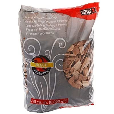 Weber 17905 Beech Wood Smoker Chips, 3-Pound by Weber Stephen Company- Accessories