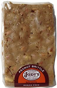 Judy's Candy Co. Sugar Free Peanut Brittle 8 oz. package