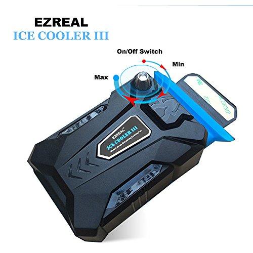 EZREAL® Notebook USB Cooler--Mini Vacuum Air Estrazione Ventole Ventola di Raffreddamento per Computer Portatile Notebook Laptop, Nero