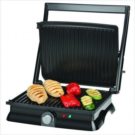 Team Appliances FHG-30035 Kalorik Stainless Steel Panini Maker