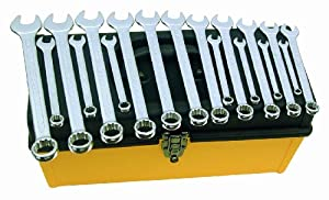 Wiha 40098 Combination Wrench Set, Metric, 18 Piece at Sears.com