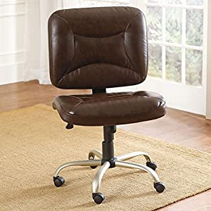Plus Size Office Chairs Plus Size Living Brylanehome Extra Wide Armless Office Review Office