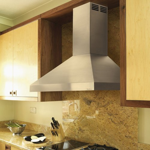 30-Inch Wide Air King AD1308 Advantage Ductless Under Cabinet Range Hood with 2-Speed Blower Stainless Steel Finish
