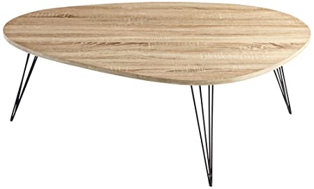 CYAN DESIGN 06355 Lunar Landing Coffee Table, Oak