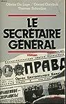 Le secretaire general par Servan-Schreiber