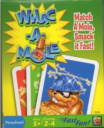 Whac A Mole Card Game Whacamole Ages 5 and Up - 1