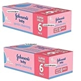 12 x 56 Pack = 672 Johnson's Johnsons Skincare Baby Gentle Cleansing Wipes