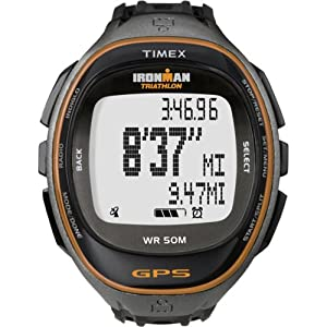 Timex Full-Size T5K549 Ironman Run Trainer GPS Watch