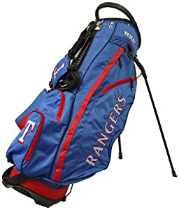 MLB Texas Rangers Fairway Stand Golf Bag, Blue by Team Golf