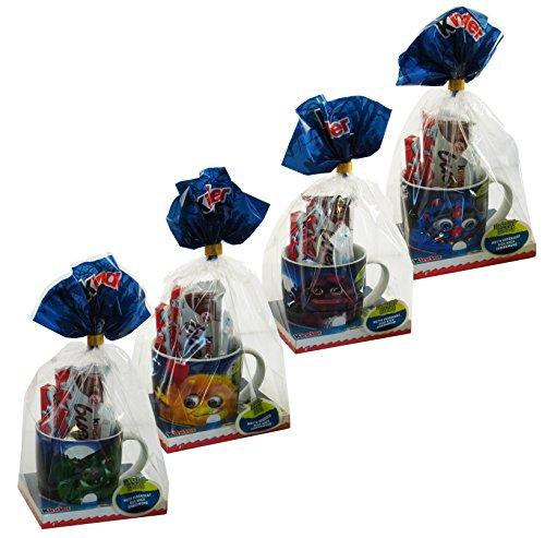 Kinder Halloween Tazza set di 4 con Kinder Maxi, Merendero eccetera 428g