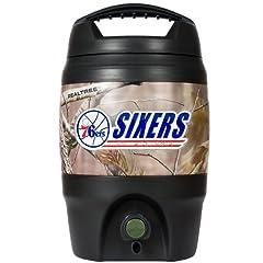 NBA Philadelphia 76ers Open Field 1 Gallon Tailgate Jug by Great American Products