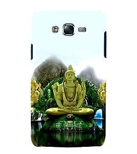 printtech Lord God Shiva Ganesha Back Case Cover for Samsung Galaxy A8 / Samsung Galaxy A8 A800F