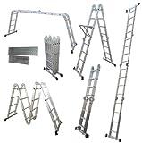 4.7 / 4x4 Multi-purpose Ladder with Platform Holder with Carton Aluminium Ladder