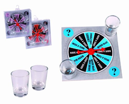 challege-your-friends-to-last-man-standing-novelty-drinking-game-includes-4-glasses-turntable-disk-m