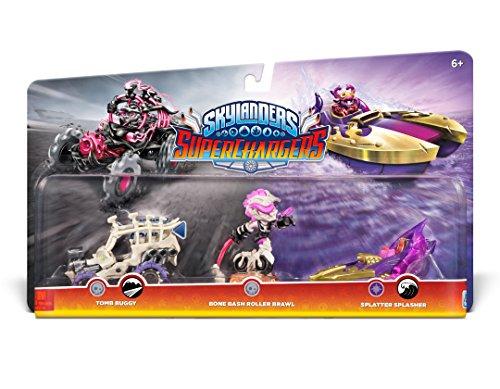 Skylanders SuperChargers - Triple Pack: Bone Bash/Roller Brawl/Tomb Buggy/Splatter Splasher
