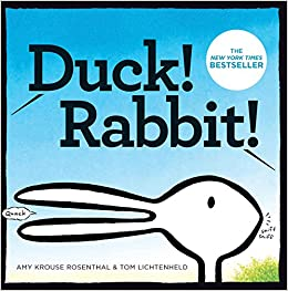 Duck! Rabbit!: Amy Krouse Rosenthal, Tom Lichtenheld: 9781452137339