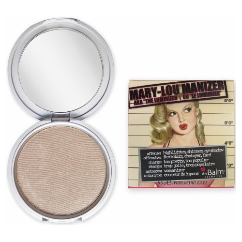 theBalm Mary-Lou Manizer Highlighter, Shadow & Shimmer - Champagne